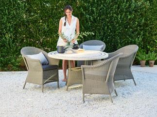 Lansing Garten-Sessel von Cane-line