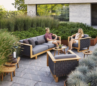 Angle Garten-Lounge von Cane-line