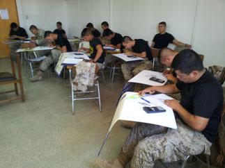 Capacitación a los soldados profesionales del BOE  2014