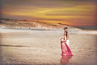 zakochani nad morzem