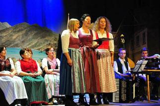 "Drei charmante ""Nachtigallen"": Barbara Pischetsrieder, Uschi Knabel, Andrea Wehrmann"