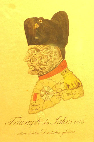 """Abb. 2 oben: """"Triumph des Jahres 1813"""""""