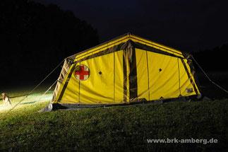 Zeltlager der Bereitschaft