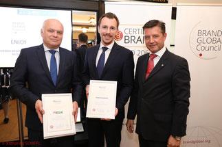 Certified Brand, ELK, Finanzfuchsgruppe, European Brand Institute, erhard Schuller, Christian Mattasits, Gerhard Hrebicek