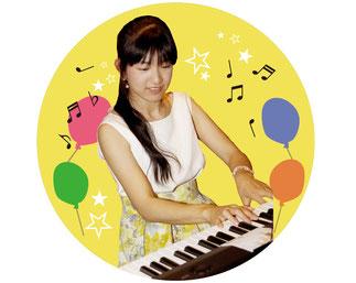 ピアノ教室の先生 杉村侑香
