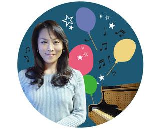 ピアノ教室の先生 笹木悦子