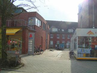 HNO-Praxis in Hamburg-Volksdorf - Eingang von der Claus-Ferck-Str.