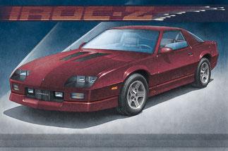 1988 CAMARO IRO-Z, 1989 CAMARO IRO-Z