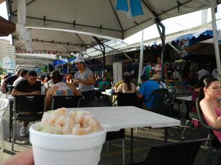 """Ceviche auf dem """"Mercado de Mariscos"""""""