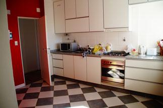 ...und die Küche.