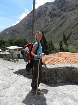 Bereit, den Machu Picchu zu erobern