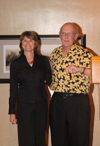 2009年の『ICCS』、プロモーターとして最後に挨拶するビル・ストラウドと奥様のバーバラ。これが「K」が会った最後の、ほぼまさにその瞬間だった