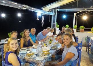 gezellig samen dineren met de flottielje
