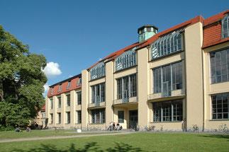 Bauhaus-Universität (Gründungsort des Bauhauses) in Weimar