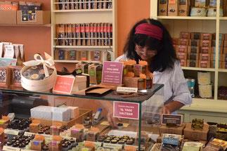 In der Goldhelm Schokoladen Manufaktur, Erfurt