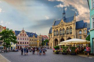 Der Fischmarkt in Erfurt