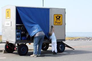 Der Gepäck transport ist auf dem Ferienhof Volkertswarft im Preis inbegriffen