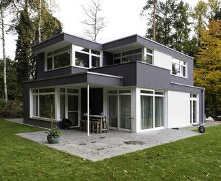 Neubau Bauhausstil klassische Moderne