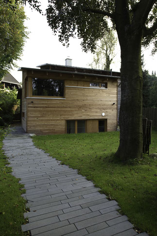 Holzhaus Buchholz Anbau
