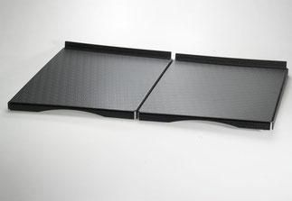 Plateau de présentation 9903041, FMU GmbH, plateaux de présentation noirs