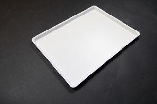 Plateau de présentation 9903071, FMU GmbH, plateaux de présentation blancs