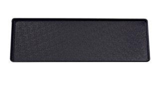 Plateau de présentation 9903003, FMU GmbH, plateaux de présentation noirs