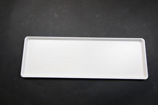 Plateau de présentation 9903073, FMU GmbH, plateaux de présentation blancs