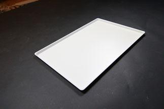 Plateau de présentation 9903070, FMU GmbH, plateaux de présentation blancs