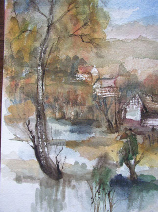 Tmavka river Bohemia