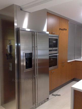 Rejilla de refrigeración para la cocina