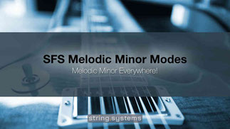 SFS Melodic Minor Modes