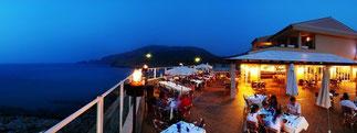 Die Aussicht vom Restaurant La Terrazza