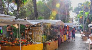 Der berühmte Hippiemarkt auf Ibiza