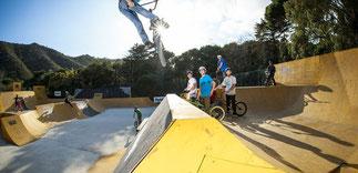 Skatepart - war bei den Teenagern sehr beliebt