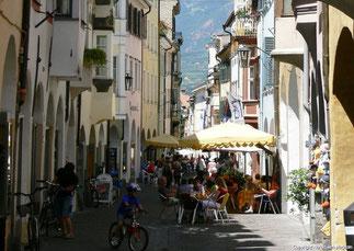 Die romantische Altstadt Meran