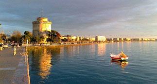 Die Stadt Thessaloniki (Bem. der Redaktion: zweitgrösste Stadt Griechenlands)