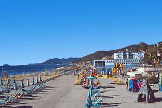 Der Strand von Puero de Alcudia