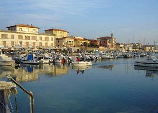 Der Hafen von San Vincenzo
