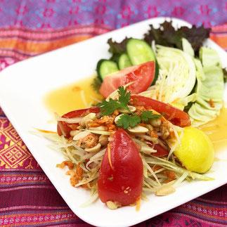 タイレストランSala 青パパイヤのサラダ