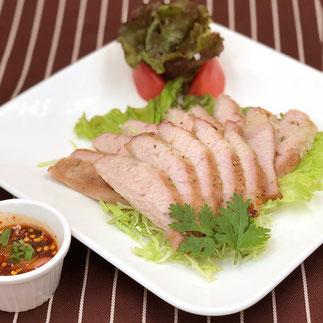 タイレストランSala とろける豚トロ焼き