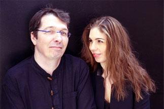 Stéphanie-Marie Degand et Daniel Isoir