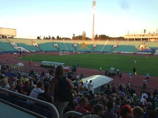 Leichtathletik im Nationalstadion