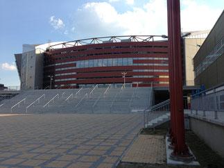 Nagelneue Multifunktionsarena Arena Armeec