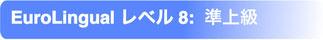 EuroLingual レベル8 準上級(プレ・アドヴァンスド)