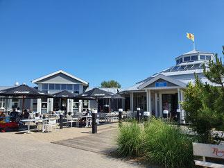 Parkzentrum vom Ferienpark Noordzee Résidence De Banjaard