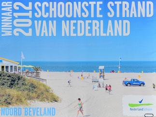 Strand De Banjaard wird Jahr für Jahr ausgezeichnet