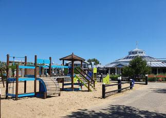 Spielplatz direkt im Parkzentrum