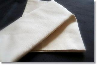 ひだの練習用の帯で作ったはこひだ。