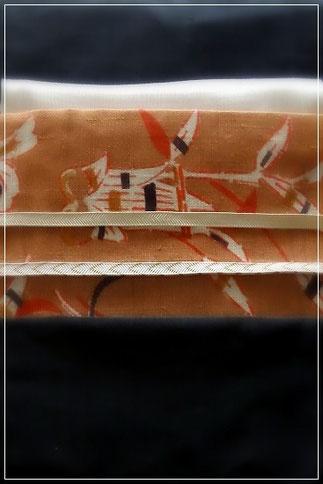 森田先生のコーディネートレッスン。帯締めを薄い色に変えました。
