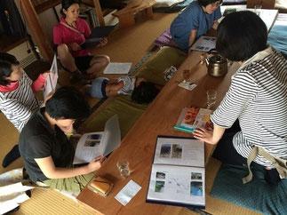 岡山からは森を守る活動をしている林業女子YOSAKOのメンバーが来丹!